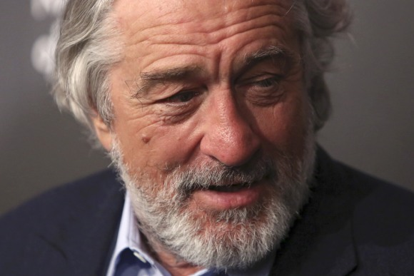 Actor Robert De Niro attends The National Board of Review Gala, held to honor the 2015 award winners, in the Manhattan borough of New York.