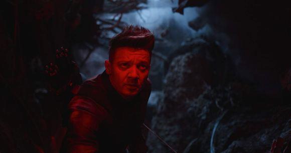 Hawkeye (Jeremy Renner) dans Avengers : Endgame